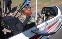 A new glider pilot