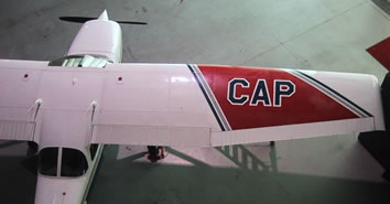 CAP's distinctive aircraft