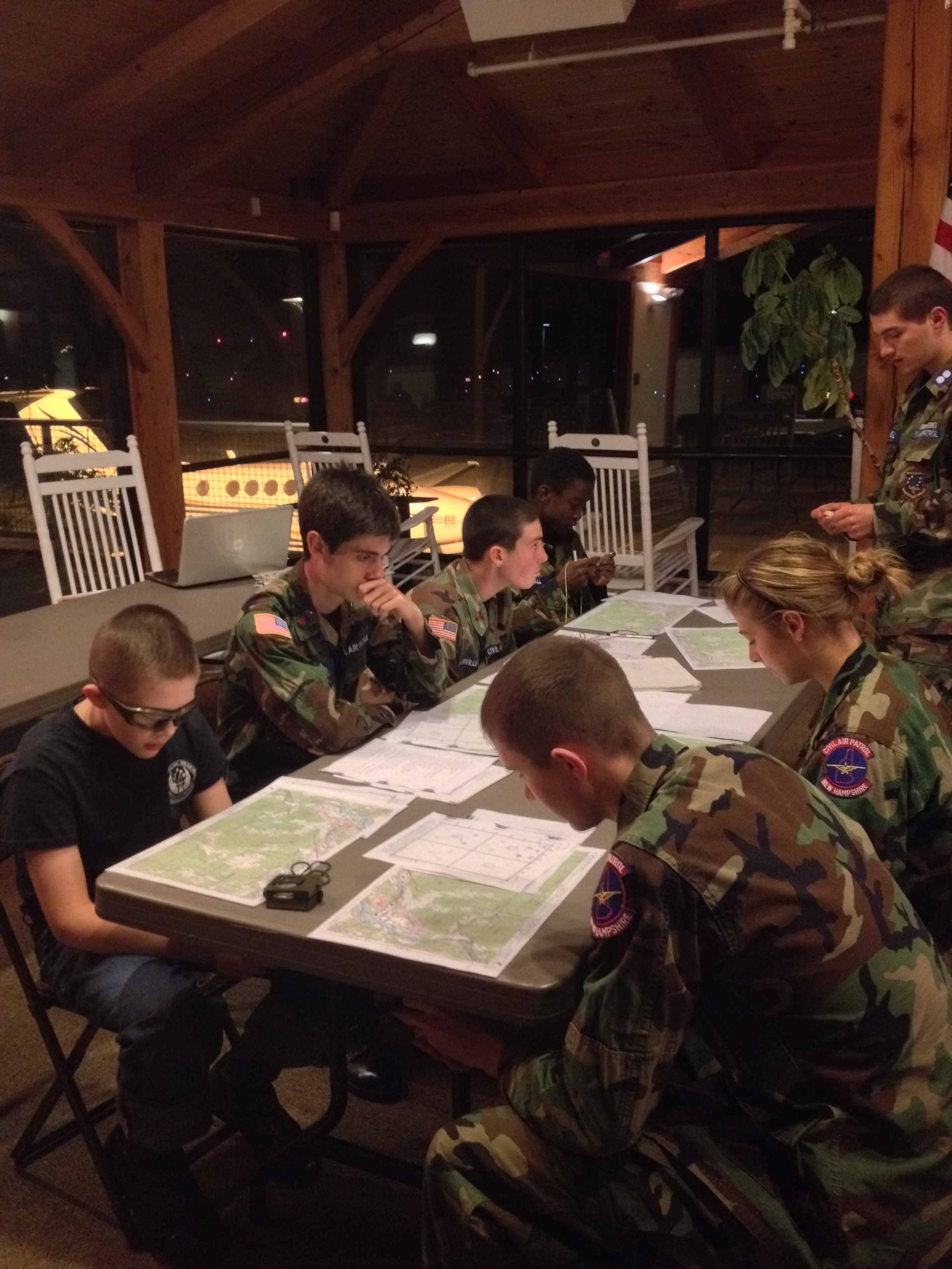 Map Reading and More Rockets | Lebanon Composite Squadron